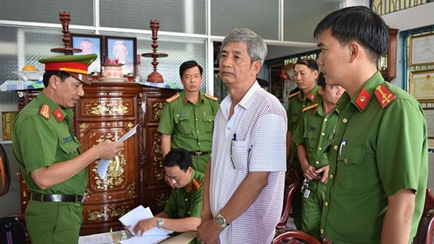 Bắt nguyên Giám đốc và Phó giám đốc Sở KHCN Trà Vinh