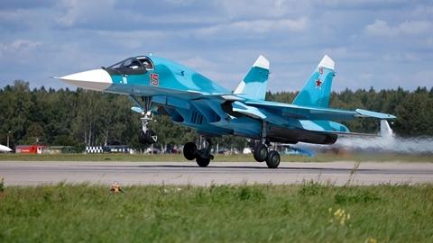 Lô Su-34 mới Nga lột xác với vũ khí tầm xa