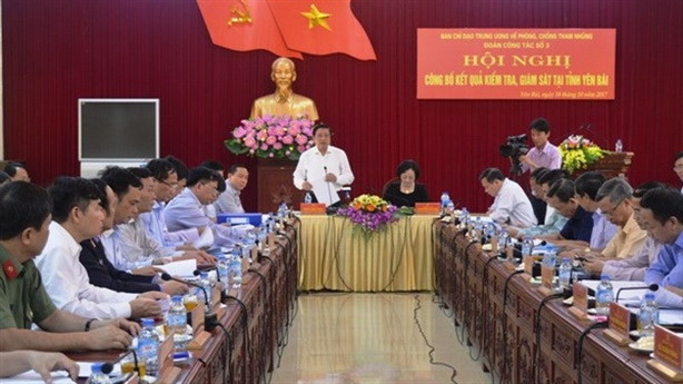 Giám sát xử lý án tham nhũng tại Thái Bình, Yên Bái