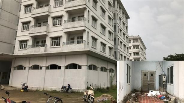 Xin phá 3 tòa nhà tái định cư: Vì sao bỏ hoang?