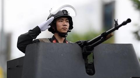 Nhận diện khẩu súng máy mạnh nhất của Cảnh sát cơ động