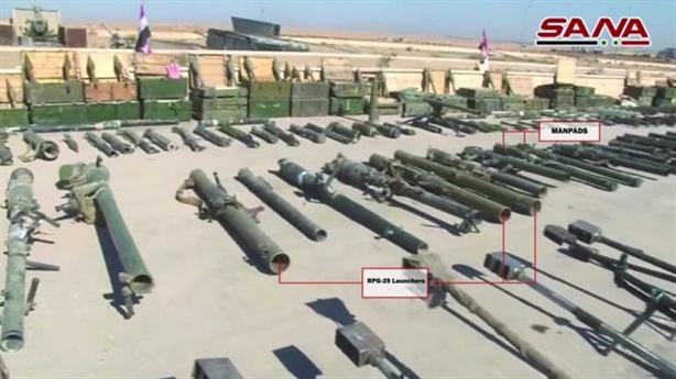 SAA thu tên lửa chống tăng mới nhất của Pháp tại Mayadin