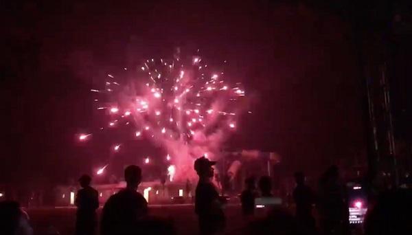 Mường Thanh Nghệ An bắn pháo hoa: Ông Thản xác nhận