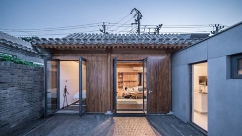 Ngôi nhà gỗ 30m2 thiết kế lý tưởng