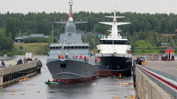Đòn đánh ngàn km của chiến hạm cỡ nhỏ Nga hạ thủy