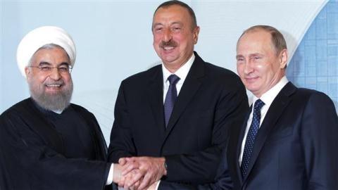 Thăm Iran, ông Putin ổn định mối nguy Nam Caucasus