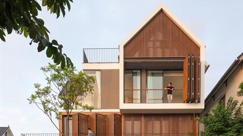 Biệt thự Long Biên sang chảnh trên tạp chí kiến trúc Tây