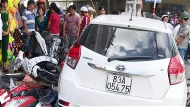 Xe đang bị tạm giữ gây tai nạn: Giải thích chính thức