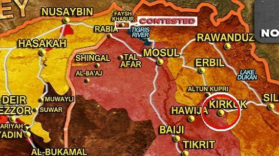 "Kurdistan Iraq suy sụp sau ""cuộc chiến vàng đen"" Kirkuk"