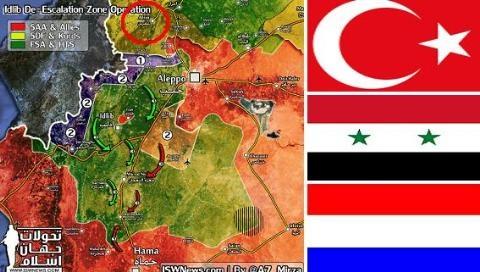 Thổ tạo xong thế và lực quét sạch YPG khỏi Afrin