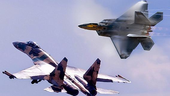 Vì sao F-22 bất lực, không thể bám đuôi Su-35 ở Syria?