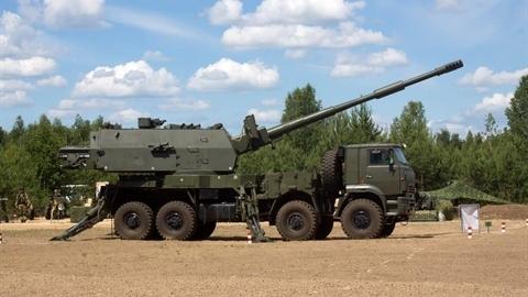 Việt Nam quan tâm pháo tự hành bánh lốp Koalitsiya-SV?