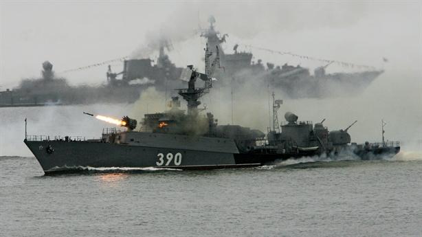 Nga dùng tàu săn ngầm hạng nặng diễn tập sát Nhật