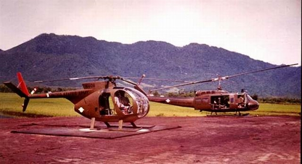 Vì sao kho chiến lợi phẩm Việt Nam thiếu trực thăng OH-6?