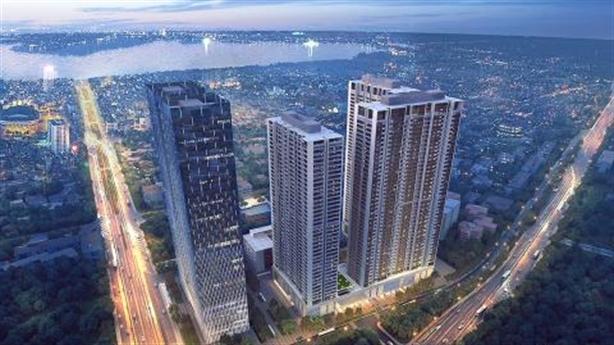 """Vinhomes Metropolis-""""Tòa nhà cao tầng tốt nhất Châu Á-Thái Bình Dương""""2017"""