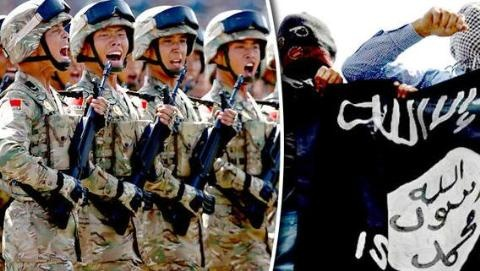 Damascus nói sự thật Trung Quốc tung quân vào Syria