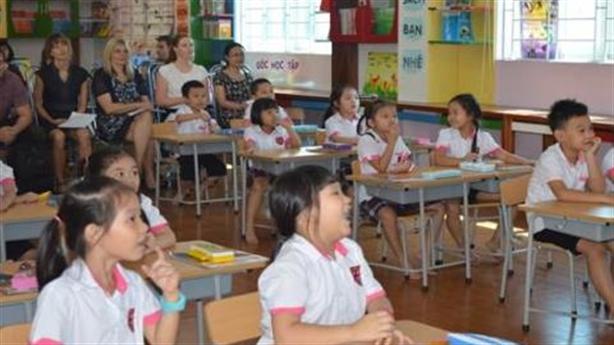 Trường Pascal: Điểm đến của các đoàn thực tập,nghiên cứu quốc tế