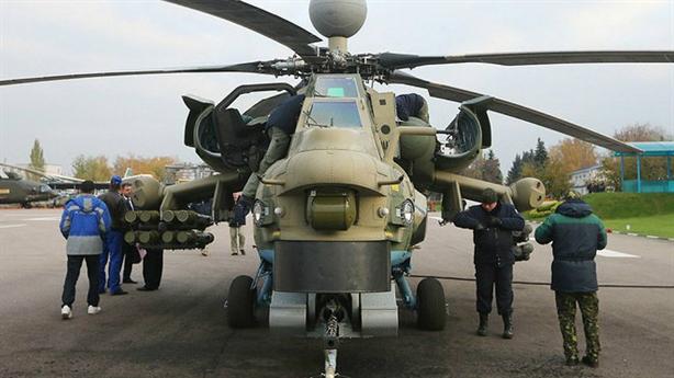 Nga sản xuất bản đặc biệt của Mi-28 sau thực chiến Syria
