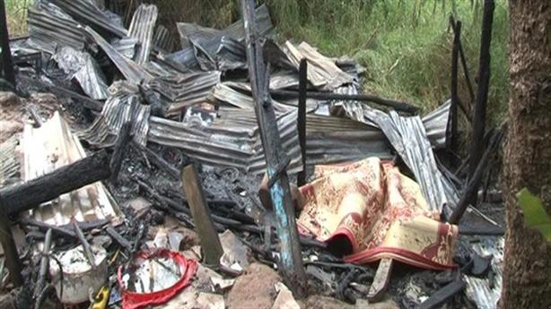Chồng tai biến chết cháy trong nhà: Do vợ dùng lò than?