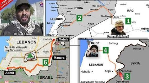 Iran-Lebanon-Hezbollah tập trung 140.000 quân, phá tan 'Tuyến xanh' của Israel