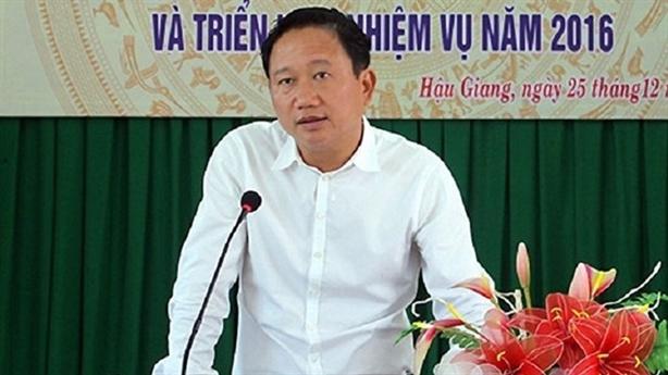 Phong tỏa tài sản đứng tên vợ con Trịnh Xuân Thanh