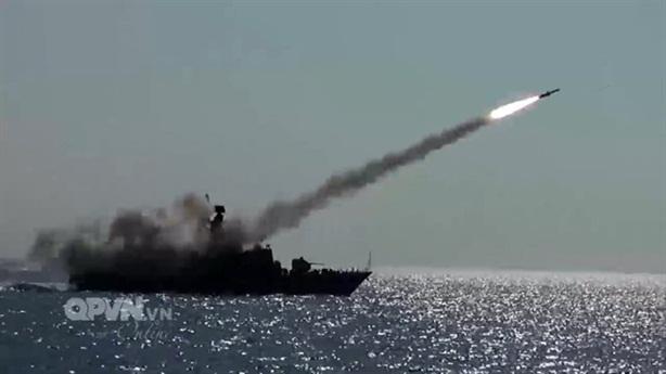 Xem bộ 3 lá chắn tên lửa bờ Việt Nam khai hỏa