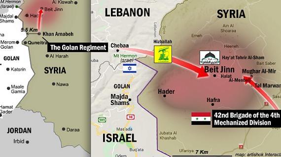 Israel bất lực: Hezbollah xuyên biên giới, SAA bóp nghẹt Golan