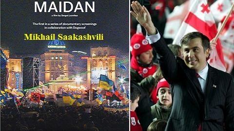 """Nga: Ukraine gặp """"Maidan mới"""" với kẻ nhai…cà-vạt, trèo mái nhà"""