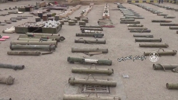 Súng RGP-30 bất ngờ xuất hiện trong kho IS