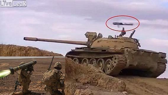 Lính tăng Syria rợn tóc gáy: ATGM bắn sượt tháp pháo