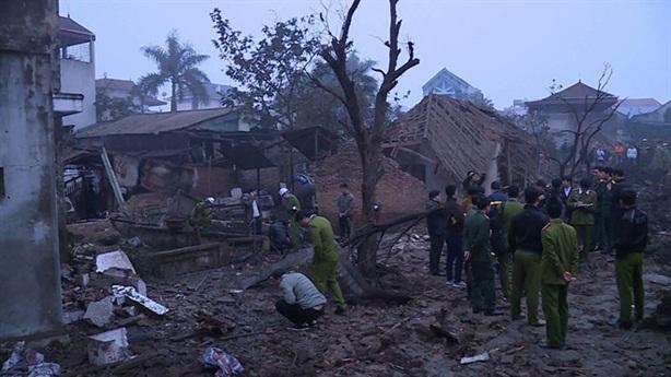 Tin mới vụ nổ ở Bắc Ninh, 2 cháu bé tử vong