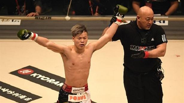 Thần đồng võ thuật Nhật Bản hạ đẹp liền hai đối thủ