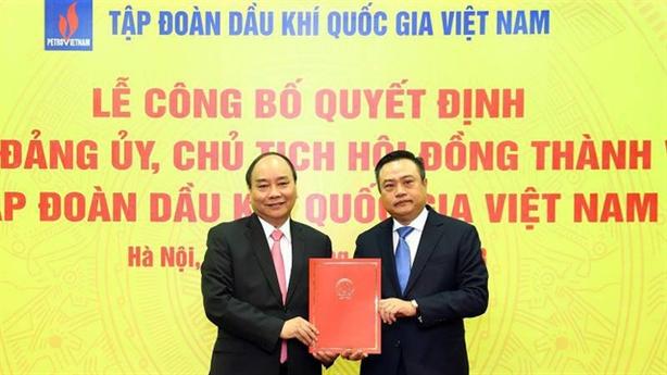 Bổ nhiệm Chủ tịch PVN: Tạo luồng sinh khí lao động mới