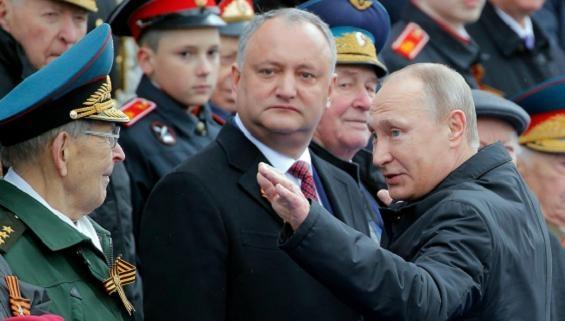 Bất chấp bị phế truất, Tổng thống Moldova quyết bảo vệ Nga