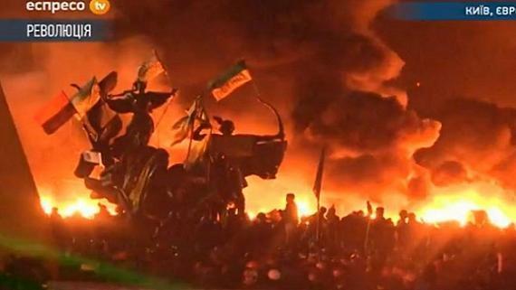 Ukraine-2018 tan nát: 'Gánh xiếc rong Kiev' nhảy theo điệu phương Tây