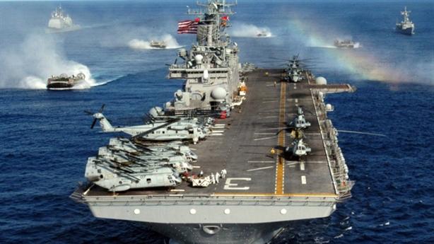 USS Wasp với F-35B bất ngờ xuất hiện ngoài khơi Nhật Bản
