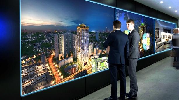 Công nghệ tương tác ảo 3D-'vũ khí' mới của kinh doanh BĐS