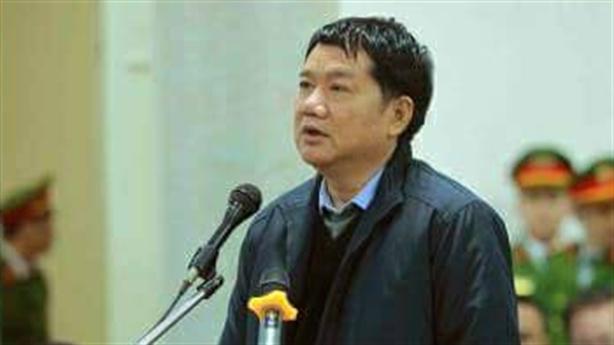 Ông Đinh La Thăng nhận trách nhiệm, xin cho cấp dưới