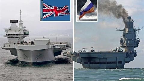 'Queen Elizabeth là nơi cất/hạ cánh thiếu an toàn cho máy bay'