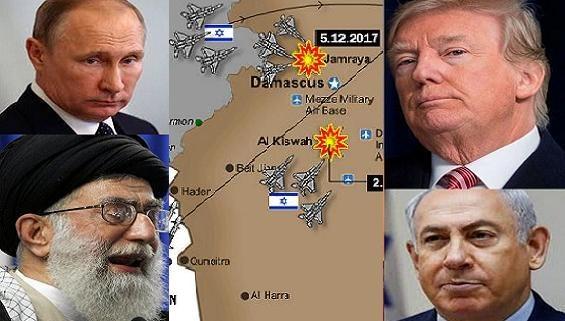 Điểm nóng Syria: Cuộc quyết đấu giữa 4 kỳ thủ lớn Nga-Iran/Mỹ-Israel