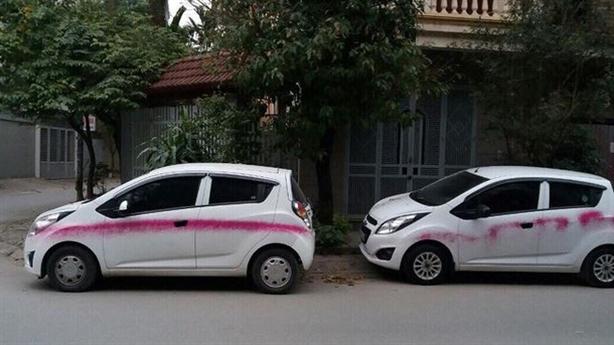 Điểm lạ vụ loạt xe bị phun sơn trong đêm Hà Nội