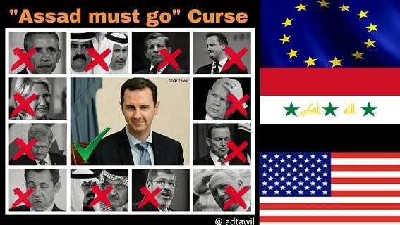 Assad yên vị, các Tổng thống Mỹ 'must go' Nhà Trắng