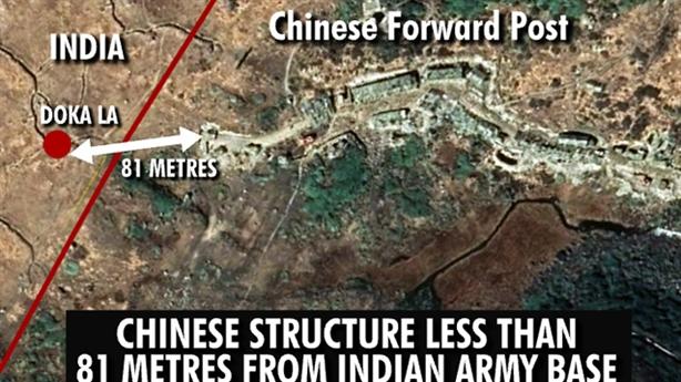 Biên giới Trung-Ấn lại đang rất nóng