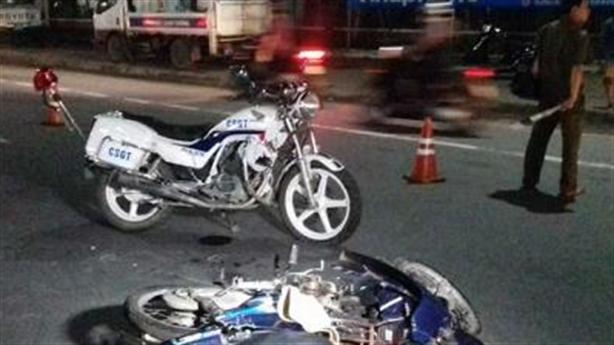 CSGT đụng xe chết người khi đuổi vi phạm:Vi phạm chạy thoát