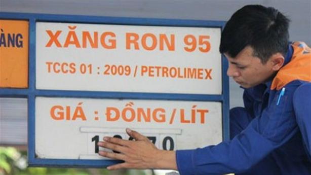 Lùm xùm giá xăng Ron 95: Chỉ thẳng sai sót