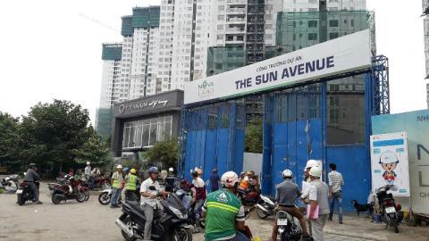 Nhà thầu chạy khỏi The Sun Avenue: Trách nhiệm của Novaland?