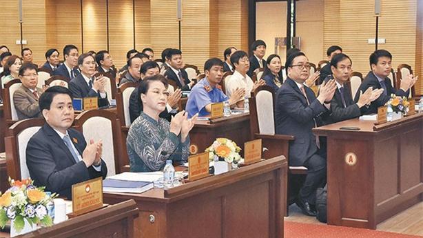 Hà Nội lấy phiếu tín nhiệm các vị trí lãnh đạo