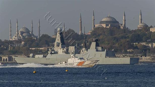 Thổ Nhĩ Kỳ hộ tống chiến hạm Anh thẳng tiến Biển Đen