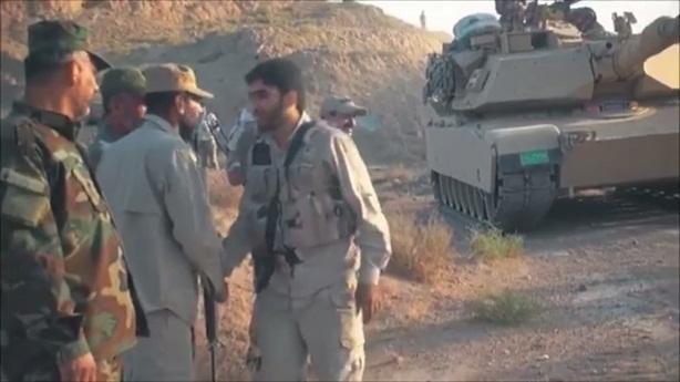 Iran tóm sống 9 chiếc tăng Abrams của Mỹ