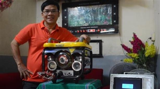 Robot thám hiểm sông Hương: